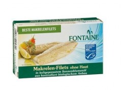 Bio makrely filety 120g